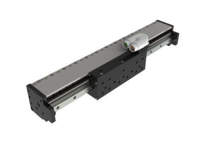 Sain automation solutions ofrece su eje lineal con motor lineal de accionamiento directo MLU33